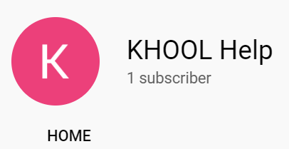 KHOOL School Help Videos